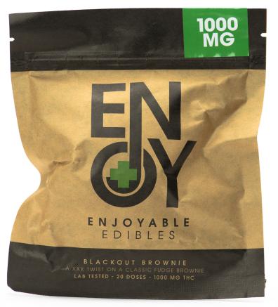 Blackout Brownie Enjoyable Edibles