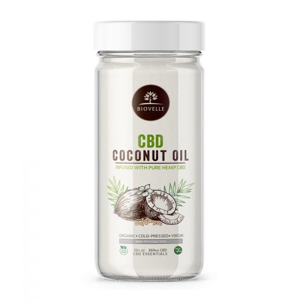 CBD Coconut Oil (New) Biovelle