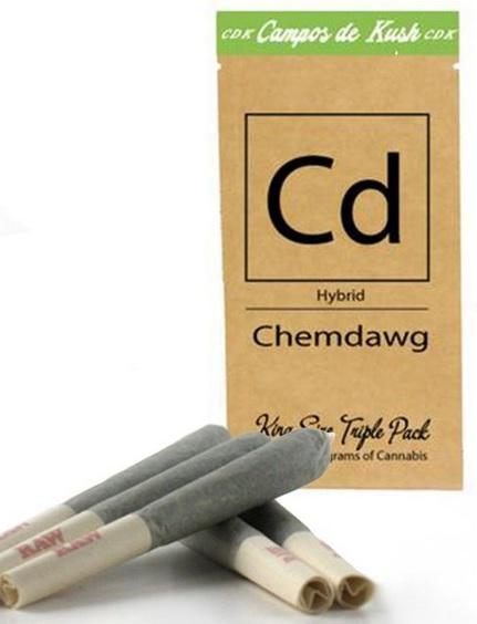 Chemdawg Hybrid Pre Rolls