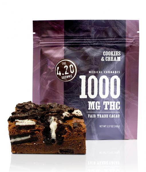 Cookies & Cream 4.20 Brownie