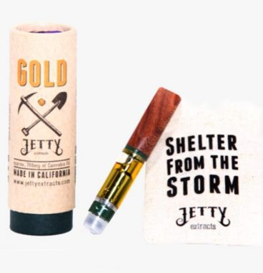 Jetty Gold Super High THC Vape Cartridges