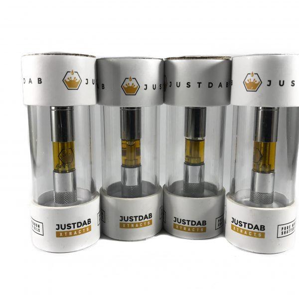 JustDab Xtracts Liquid Nugrun Shatter Cartridge