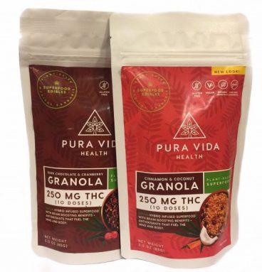 Organic Granola Pura Vida Health