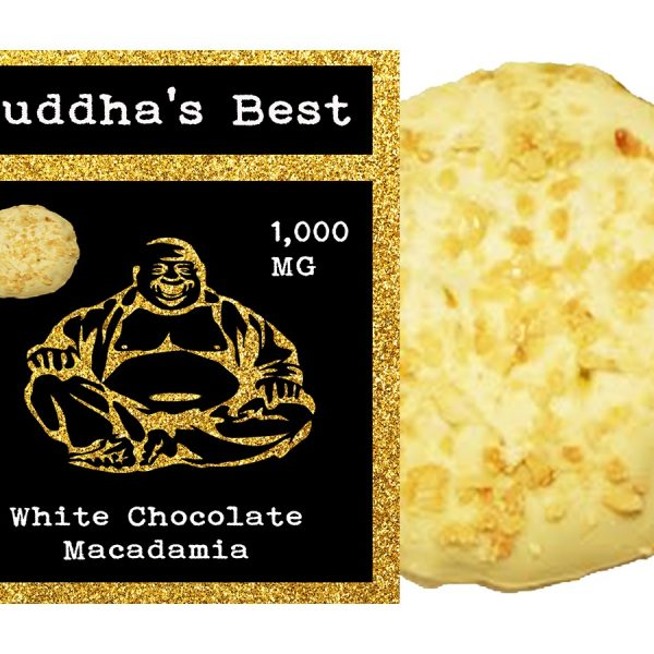 White Chocolate Macadamia Edibles