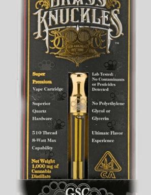Brass Knuckles SFV OG High THC Cartridges